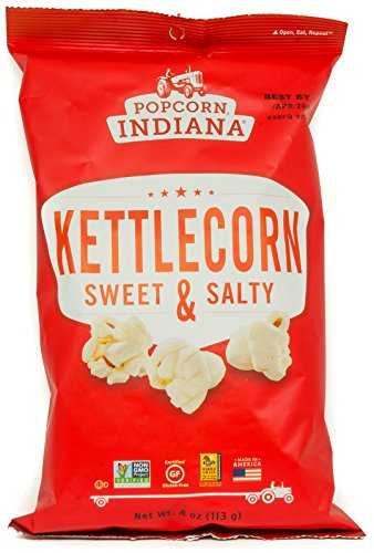 (Popcorn Indiana Kettlecorn Sweet and Salty, 4 Oz (Pack of 4))