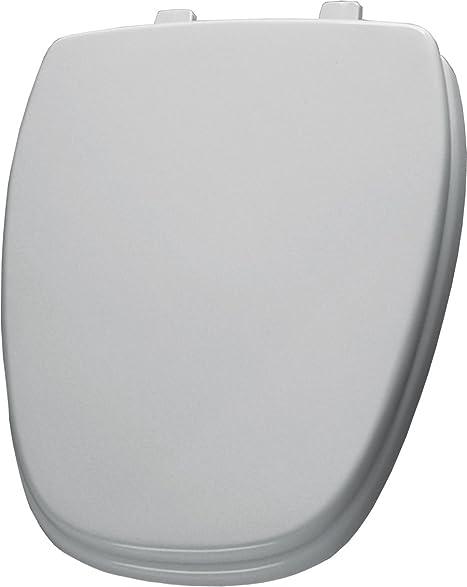 eljer emblem toilet seat. Bemis 1240210000 Eljer Emblem Molded Wood Round Toilet Seat  White