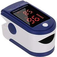 Pulsioxímetro de dedo, saturación de oxígeno en sangre, monitor de SpO2 y PR 8S, medición rápida, medidor de frecuencia…