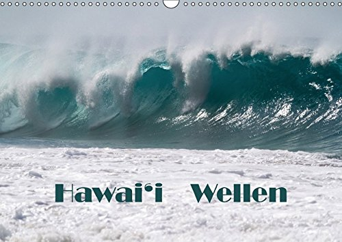Hawai'i Wellen (Wandkalender 2017 DIN A3 quer): Alle Wellen von demselben Strand auf Kaua'i (Monatskalender, 14 Seiten ) (CALVENDO Natur)