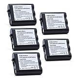 ATC 5Pack Panasonic P-P511 NiMH 2400mAh Phone Battery - for Panasonic P-P511, Energizer ER-P511, ER-P507