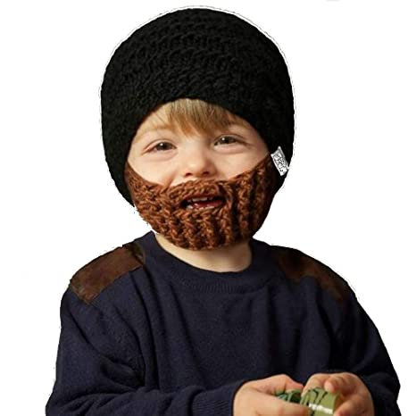 Amazon.com  Beardo Kids Detachable Beard Hat 9a3c3c315c5