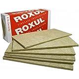 """Roxul Rockboard Acoustic Mineral Wool 60 - 6lbs.pcf 48""""x24""""x1"""" 12pcs"""