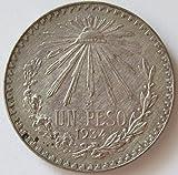 1934 MX Mexican 1 Peso VF