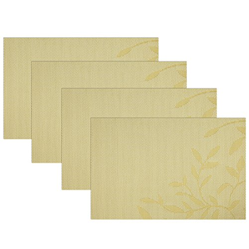 SiCoHome Placemats Insulation Stain resistant Placemat