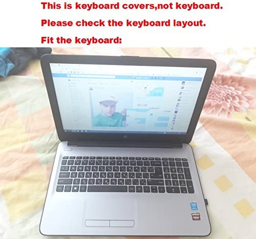 Laptop High Clear Transparent Tpu Keyboard Protector Skin Cover guard for HP 250 G4 G5 4th 5th generation 15.6