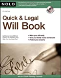 Quick and Legal Will Book, Denis Clifford, 1413308619