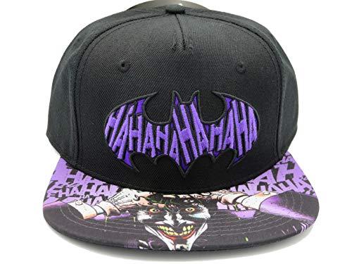 (DC Comics The Joker Hahaha Batman Logo Sublimated Bill)