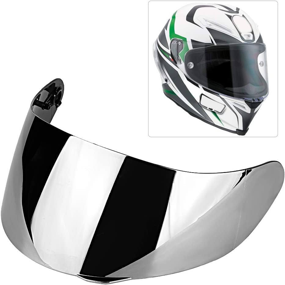 trasparente visiera per casco da motociclista con visiera EBTOOLS Visiera per casco da motociclista visiera integrale adatta per AGV K1 K3SV K5