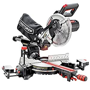 "Craftsman 10"" Single Bevel Sliding Compound Miter Saw (21237)"