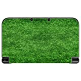 Green Grass Turf Field New 3DS XL 2015 Vinyl Decal Sticker Skin by Moonlight Printing
