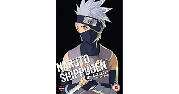 Amazon.com: Naruto Shippuden Box 28 (Episodes 349-358) [DVD ...