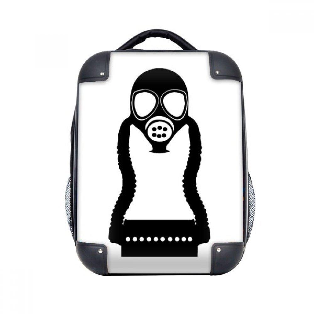 DIYthinker Contaminación antigás de la caja pequeña Counter Strike duro de transporte para hombro Niños Mochila 15