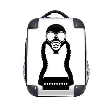 DIYthinker Contaminación antigás de la caja pequeña Counter Strike duro de transporte para hombro Niños Mochila