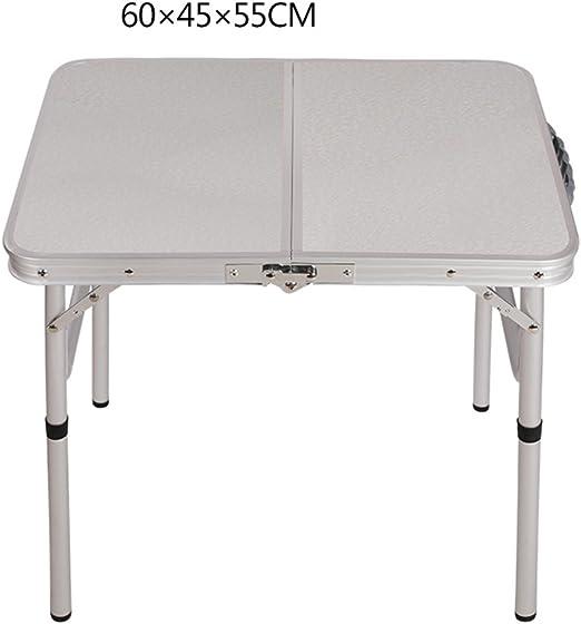 mesa plegable YNN Table Mesa de Barbacoa Mesa Pequeña Camping al ...