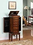 Wildon Home Nathan Elite 6 Drawer Jewelry Armoire