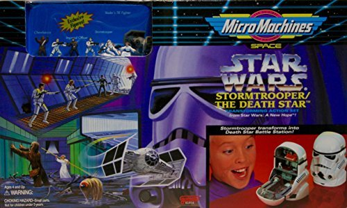 (Star Wars MicroMachines Stormtrooper Death Star Transforming Action Set)