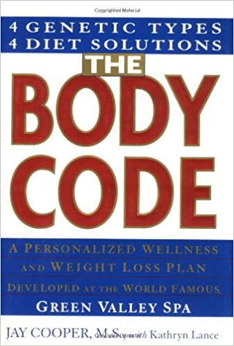 Buy The Body Code A Personal Wellness And Weight Loss Plan At The