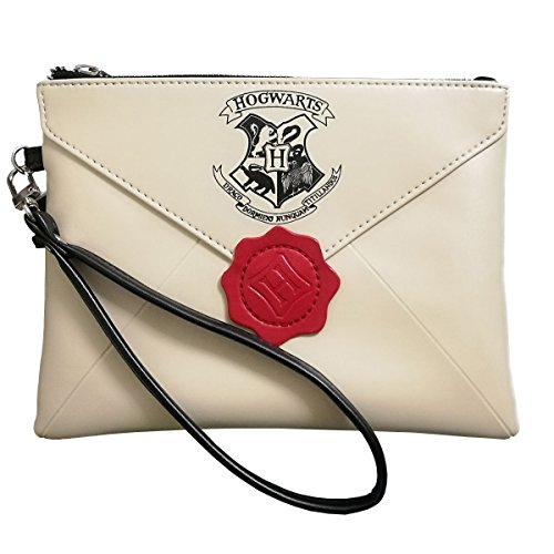 Woman Handbags Harry Potter Letter from Hogwarts Wallet Cosmetic ()