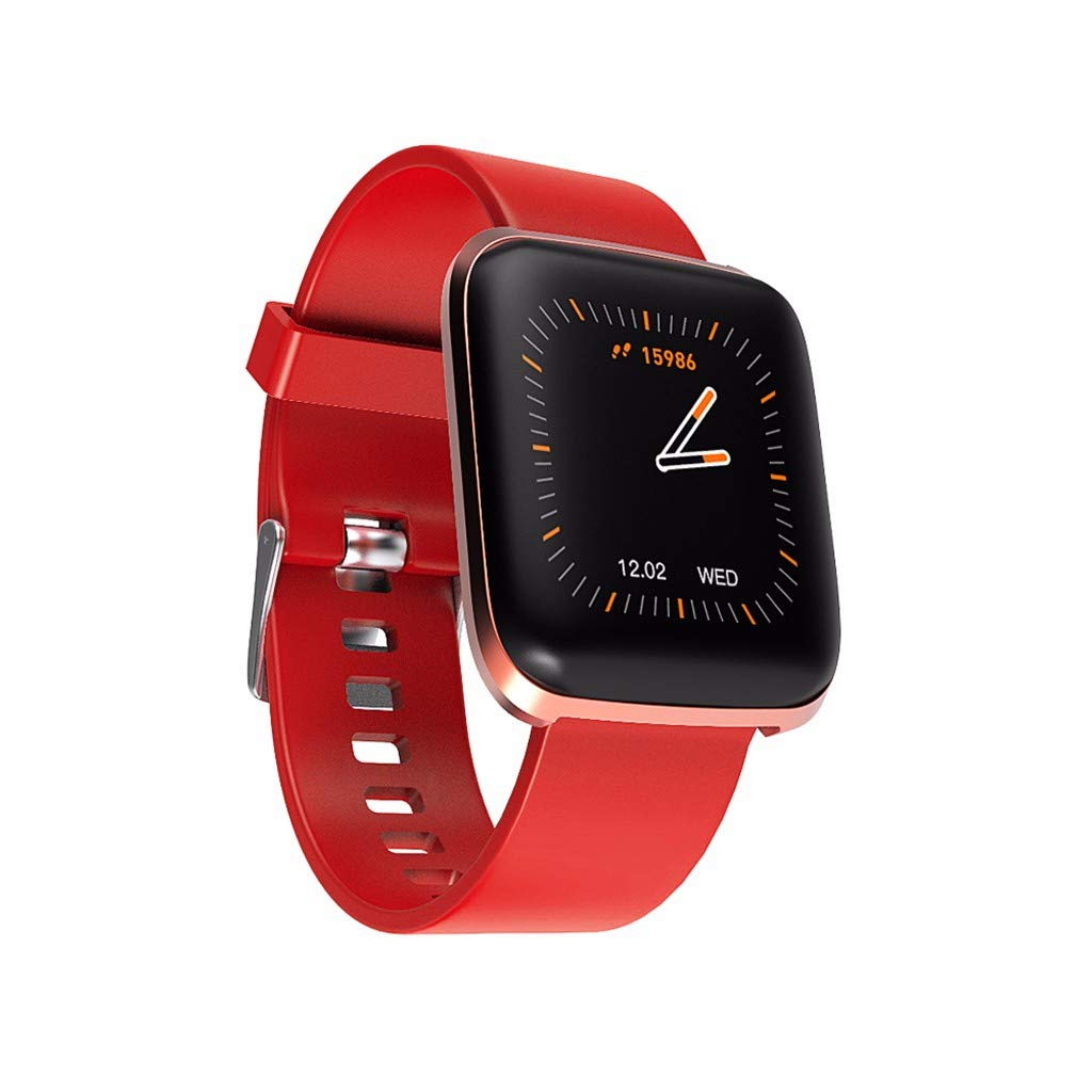 Big Smart Watch Sports Fitness Activity Heart Rate Tracker Watch Calories IP67 for Father Men Boys Boyfriend Lover's Birthday