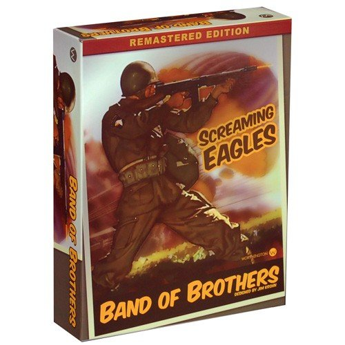 WOG: Band of Brothers, Screaming Eagles, Remastered [2nd] Edition Boardgame
