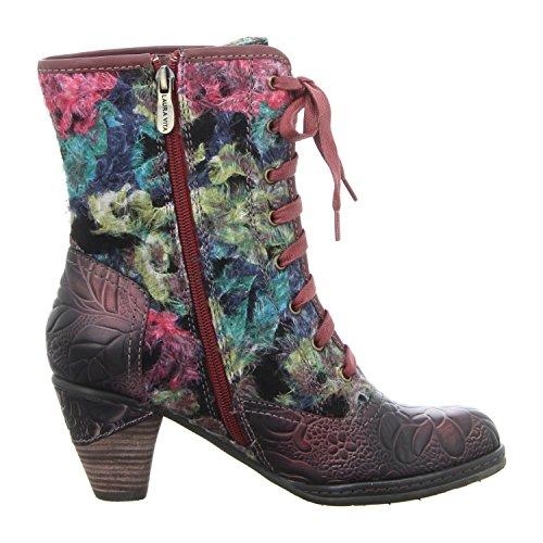 Laura Vita Femmes bottines rose, (rot-kombi) ALIZEE 12