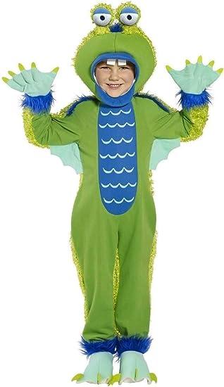 Disfraz de monstruo gracioso niño - 4 - 6 años: Amazon.es ...