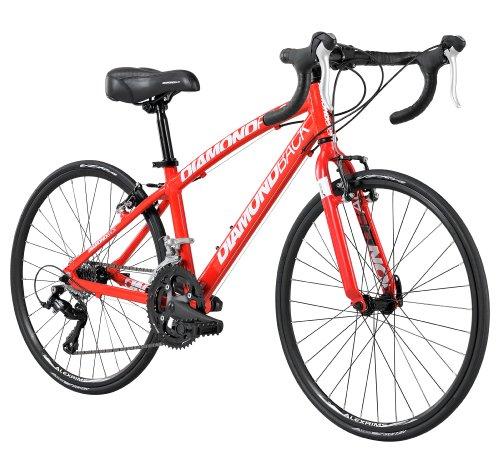 Diamondback Bicycles 2014 Podium Youth Road Bike (24-Inch Wheels), One Size, Red