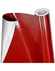 VViViD 5D High Gloss Red Epoxy Carbon Fiber Automotive Vinyl Wrap Film Roll