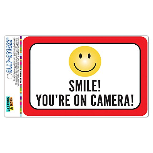 Camera SLAP STICKZ Premium Laminated Sticker