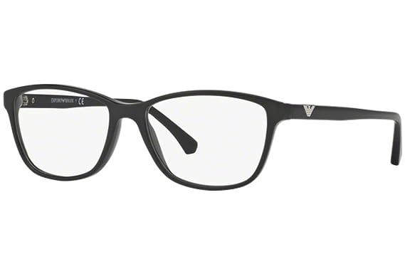 Emporio Armani Damen Brille » EA3099«, schwarz, 5017 - schwarz