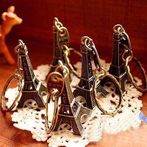 Clothful  Cute Adornment 3D Eiffel Tower French Souvenir Paris Keychain Novelty (Best Paris Neighborhoods To Explore)