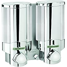 Better Living Products 76245-1 AVIVA Two Chamber Dispenser, Chrome