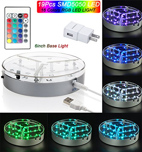 Rechargeable Led Light Base
