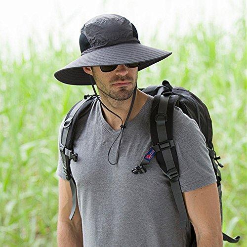Outdoor Mountaineering Men s Wide Brim Hat, Sunscr…