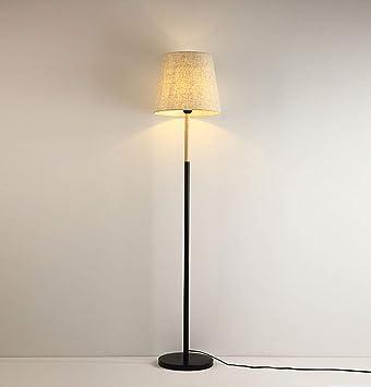 First lámpara de pie Lámpara De Pie, Lámpara De Pie De Tela ...