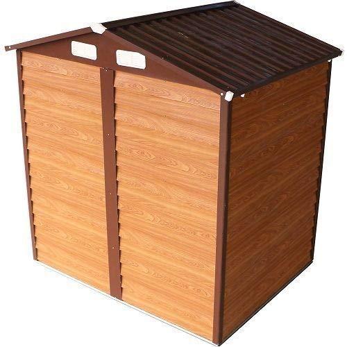 ITALFROM caseta trastero Garaje Coche para jardín Chapa galvanizada - Medida 366 X 321 cm. Altura: Amazon.es: Hogar