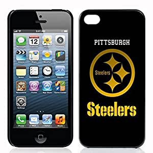 SUUER Pittsburgh Steelers background Designer Personalized Custom Plastic Hard CASE for iPhone 5 5s Durable Case Cover