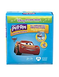 Pull-Ups Learning Designs Potty Training Pants for Boys, 2T-3T (18-34 lb.), 25 Ct. (Packaging May Vary) BOBEBE Online Baby Store From New York to Miami and Los Angeles