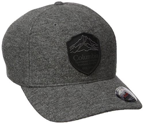 Columbia Mens Lodge Hat  Boulder  Black Patch  L Xl