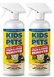 KIDS 'N' PETS - Instant All-Purpose Stain & Odor Remover - 27.05 oz - (800 ml) - Proprietary Formula Permanently Eliminates Tough Stains & Odors - Even Urine Odors - Non-Toxic & Child Safe