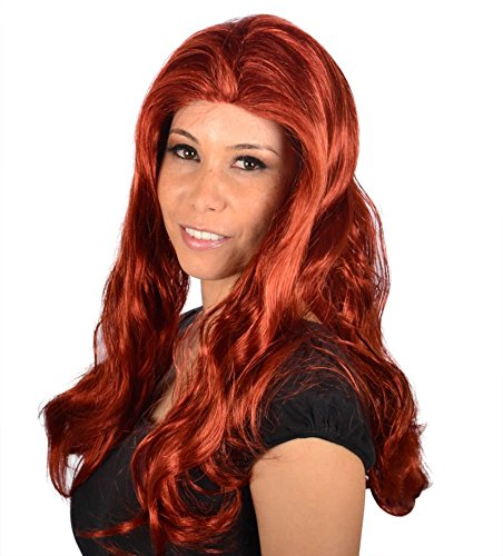 Tyra Banks Halloween (My Costume Wigs Women's Tyra Banks Wig(red) One Size Fits)