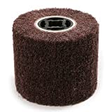 Maslin Grit 120 New 120100mm Non-Woven Stainless Steel Polishing Wheel Nylon Drawing Abrasive Grinding Wheel Dremel Rotary Tool - (Brand: New, Grit: 120)