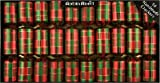 "10 X 8.5"" English Christmas Crackers By Robin Reed - Plaid"