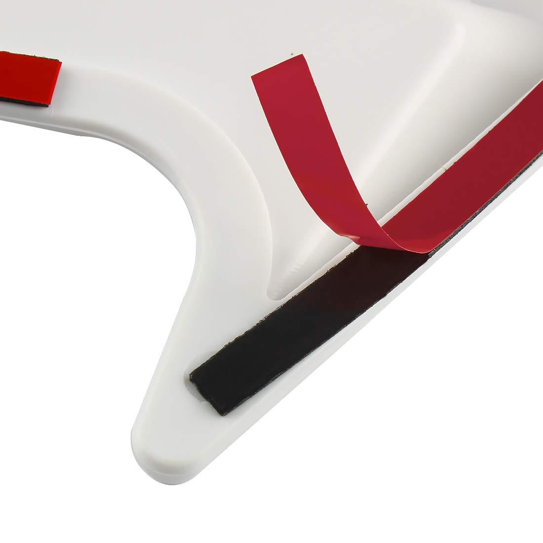 Andux Land Car Vent Grille Cover Decorative Air Flow Intake 2pcs JFK-02 Black