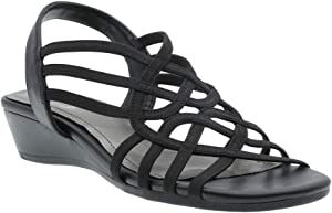 5387d0dd0d The Radmilla stretch elastic sandal is comfortable and stylish, and comes  in a range of beautiful colors.