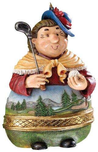 Golf Gifts & Gallery Clubhouse Collection Lady Golfer Ornament