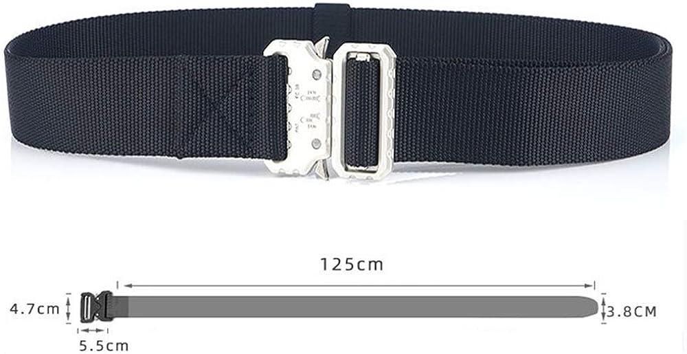Xiton Tactical Rigger Belt Tailleng/ürtel aus Nylon mit Hochleistungsschnalle f/ür Herren 1 St/ück in Braun