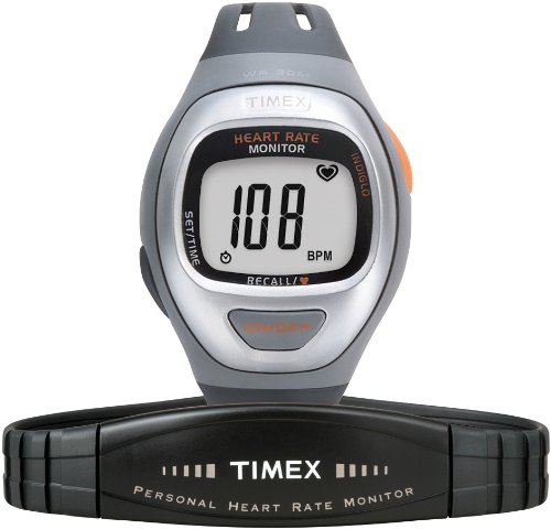 Timex Mid-Size T5G941 Easy Trainer Heart Rate Monitor Watch