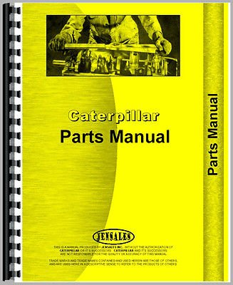 For Caterpillar D6c Crawler Parts Manual  New   10K7953 10K11939